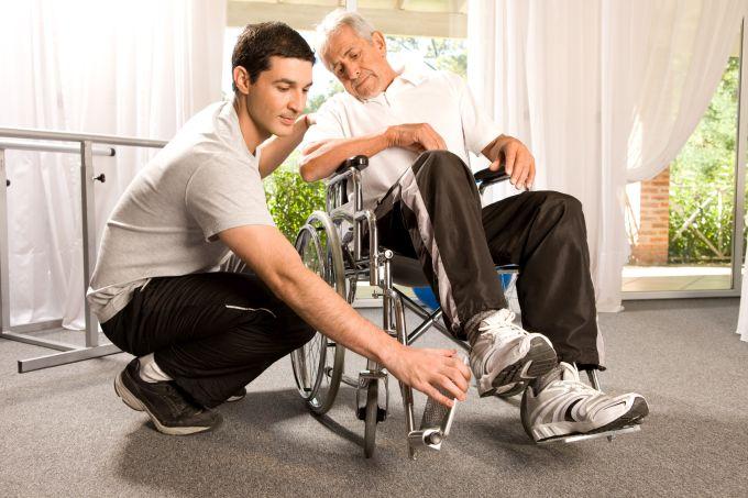 Osoby niepełnosprawne w samolocie