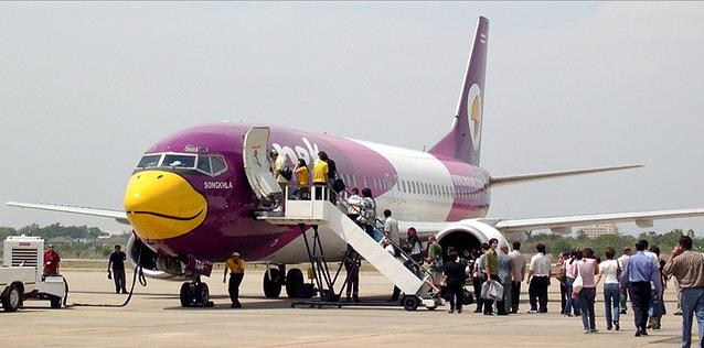 Procedimentos de embarque para linhas aéreas de baixo custo
