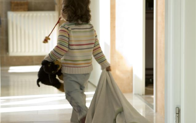 Mães, bebês e crianças pequenas nos hotéis