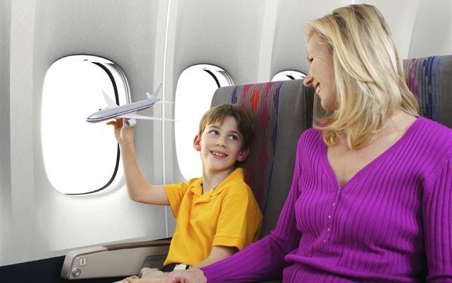 Uçuş sırasında çocuğun konforu