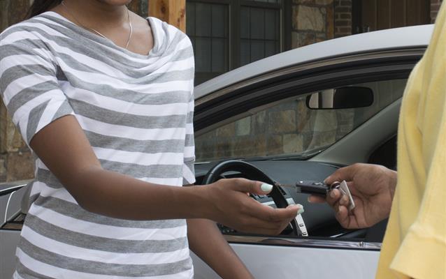 Como retirar o carro alugado?