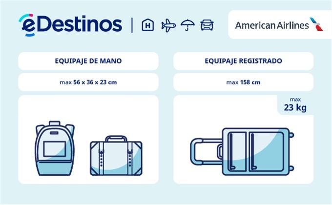 Equipaje: tamaño y peso - AMERICAN AIRLINES