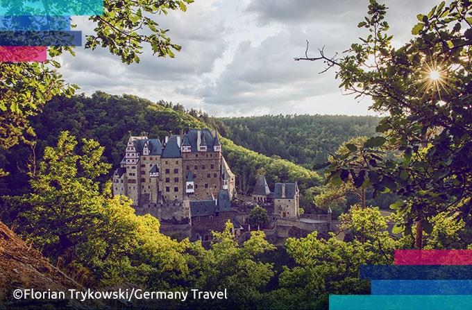 Niemieckie zamki: Eltz i Hohenzollern
