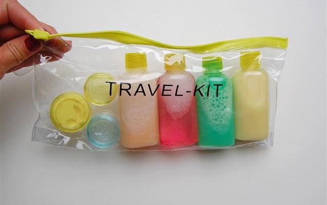 Como levar líquidos na bagagem?