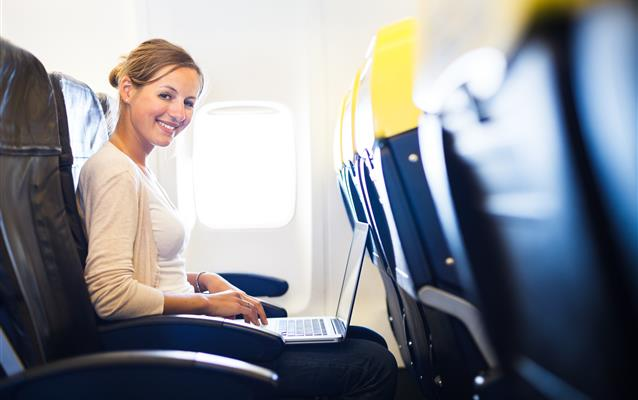 Uçakta internet erişimi