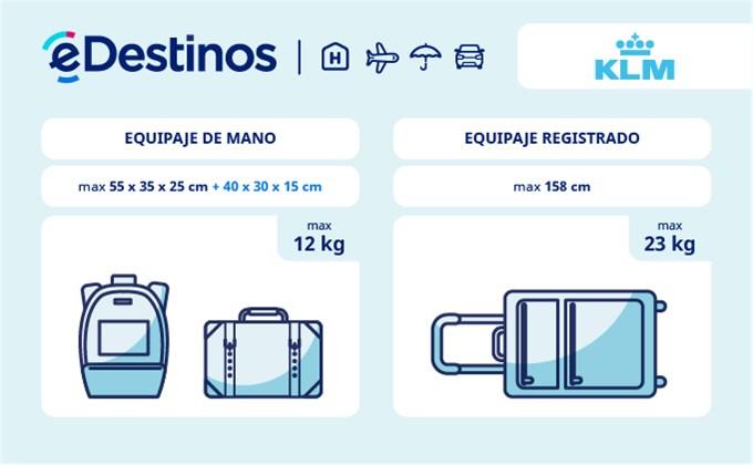 Equipaje: tamaño y peso - KLM