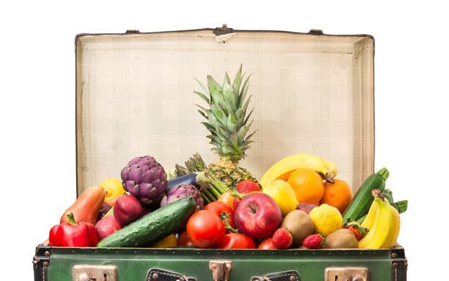 Transportul alimentelor cu avionul