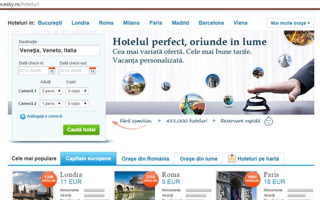 Cum să caut un hotel?
