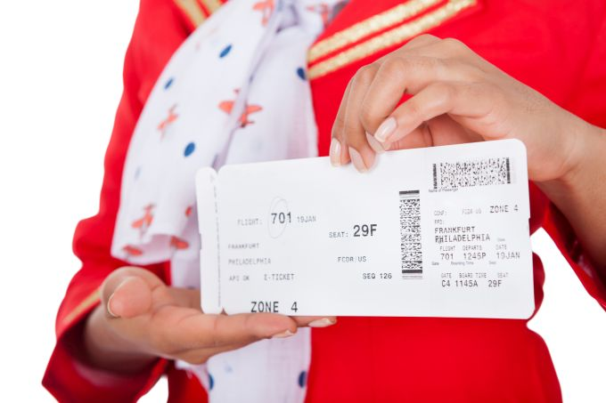 Uçak biletini sorgulama