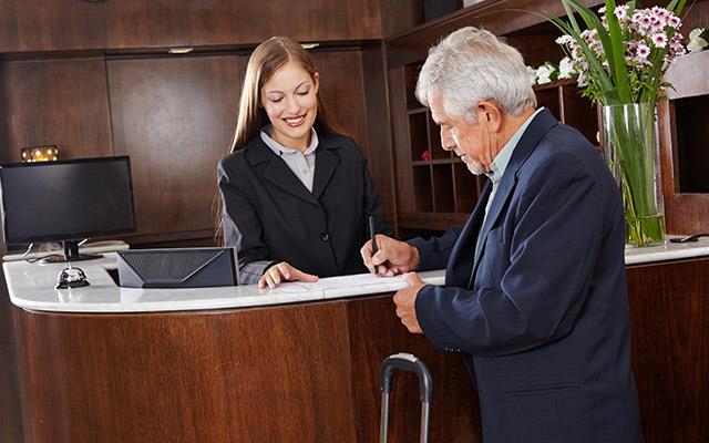 Otel çıkış işlemleri