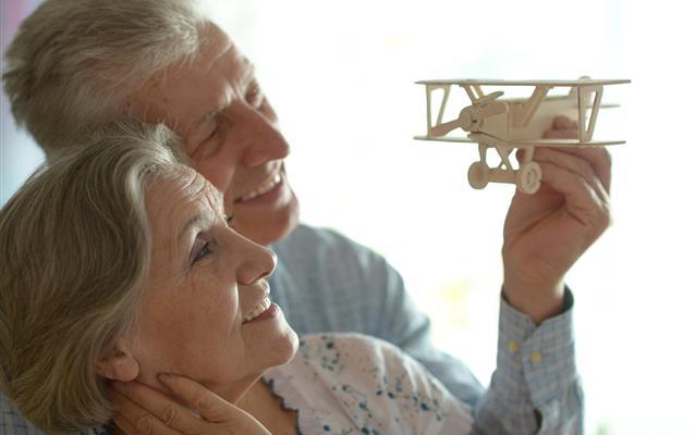 Osoby starsze w samolocie