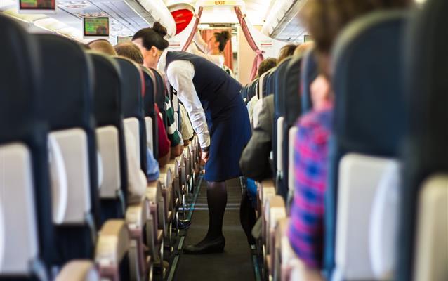 Servicio a bordo del avión