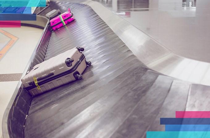 Παραλαβή αποσκευών μετά την πτήση