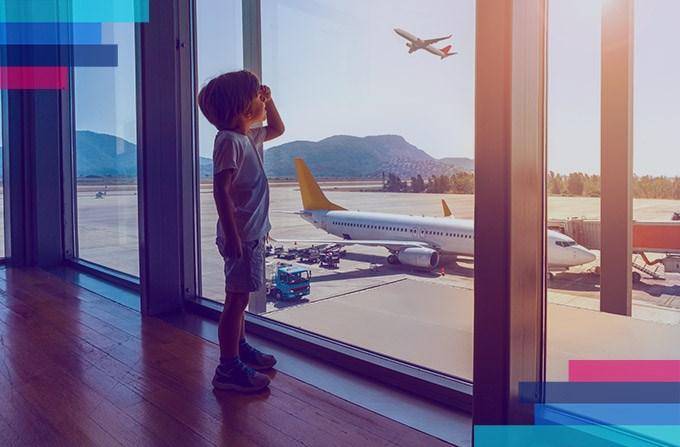 Hur förbereder jag mitt barn inför flygningen?