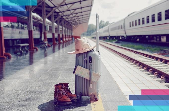 Limity bagażu w pociągu