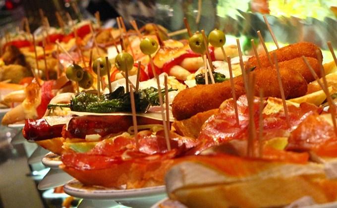 Cinco comidas para probar en Madrid