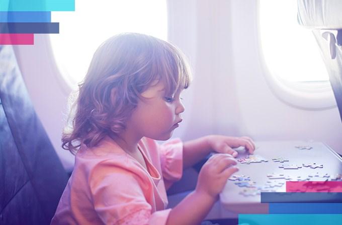 Podróż dziecka bez opiekuna w samolocie