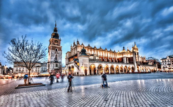 Viajando a Cracovia - Polonia