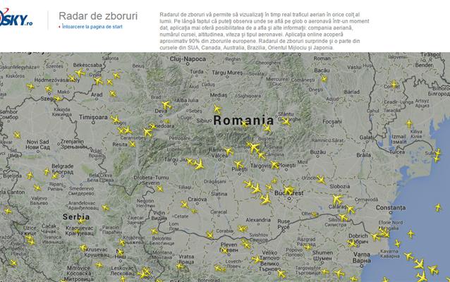 Cum pot urmări ce avioane de pasageri zboară?