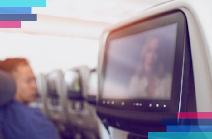 Rozrywka na pokładzie samolotów Lufthansy