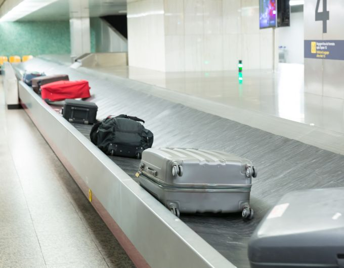 Como recolher a sua bagagem